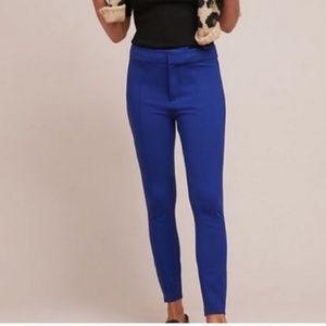 NWT Anthropologie | Essential Slim Royal Blue Pant